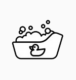 baby washing