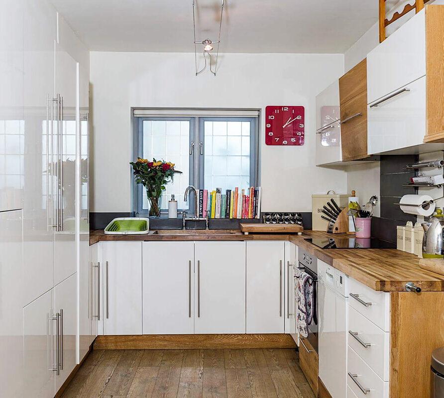Dairy cottage kitchen